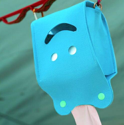 ├登山樂┤Ridge Line 彩色微笑面紙盒 - 天藍 #OT867277SK