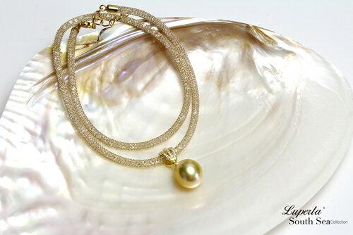 大東山珠寶 燦爛之星 頂級南洋金珍珠項鍊 極致閃耀 3