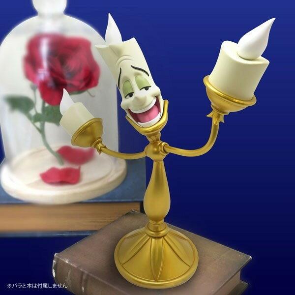 【真愛日本】18012300067 動畫經典角色-盧米亞燭台 美女與野獸 燭臺 LED燈 玄關燈 禮物 擺飾