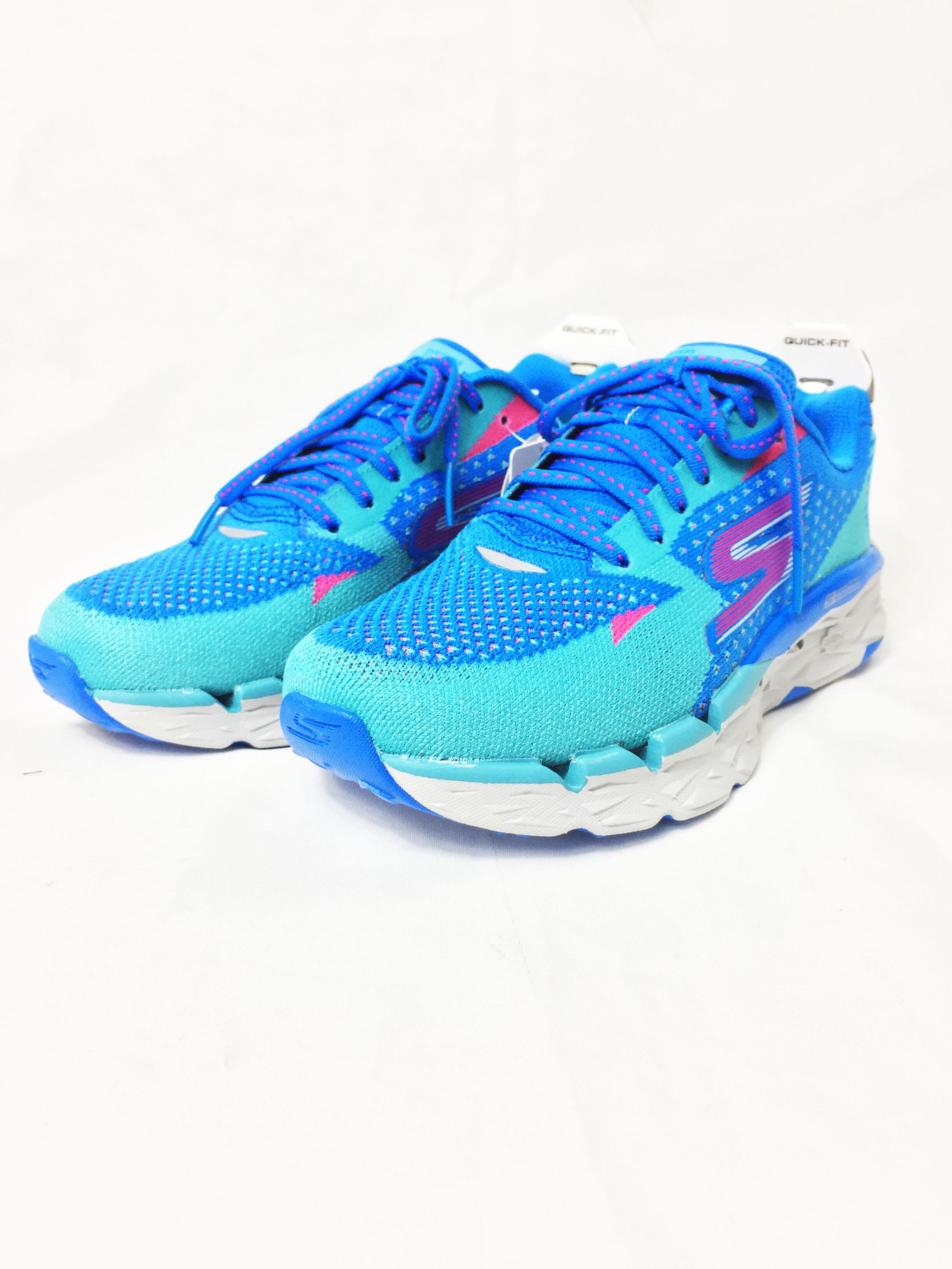 SKECHERS 女 慢跑鞋 GO RUN Ultra 2 (粉藍粉) 15050BLGR 【胖媛的店】