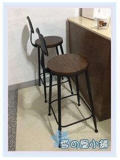 ╭☆雪之屋小舖☆╯法國工業風鐵椅Tolix復刻版鐵凳民宿造型餐椅休閒椅吧檯椅