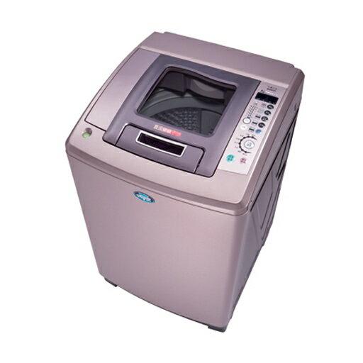 台灣三洋SANLUX13公斤DD直流變頻超音波單槽洗衣機SW-13DV8六芒星鑽超大迴轉盤