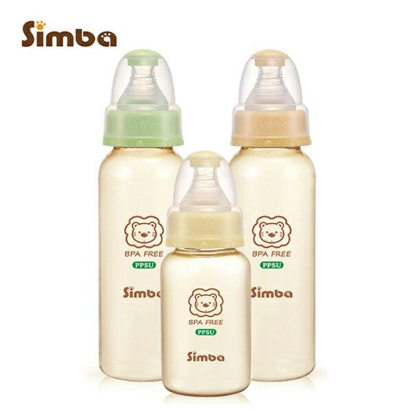 Simba小獅王辛巴 - PPSU標準奶瓶經濟組 (2大1小) 加贈nac nac - 奶蔬洗潔精200ml! 0