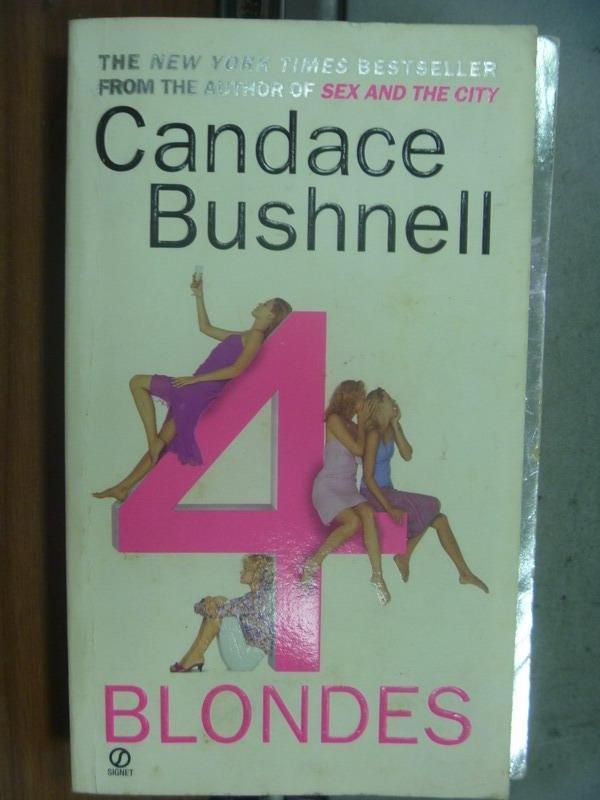 【書寶二手書T5/原文小說_MNW】Blondes_Candace bushnell