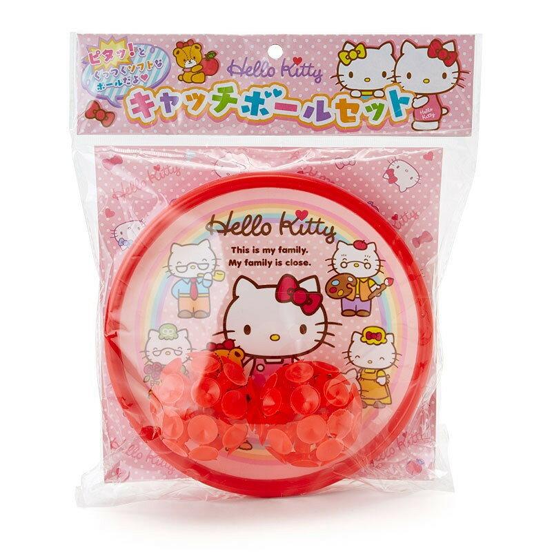 X射線【C004647】Hello Kitty 玩具吸盤球組,吸盤拳擊球/黏黏球/粘粘球/觸覺吸盤球/拋接球