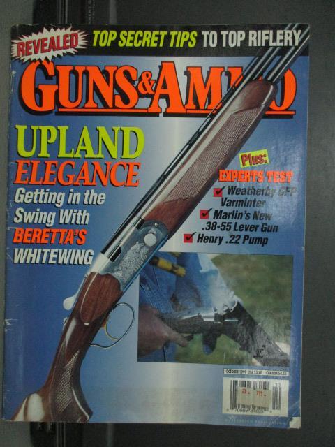 【書寶二手書T1/雜誌期刊_QGH】Guns ammo-Upland elegance等