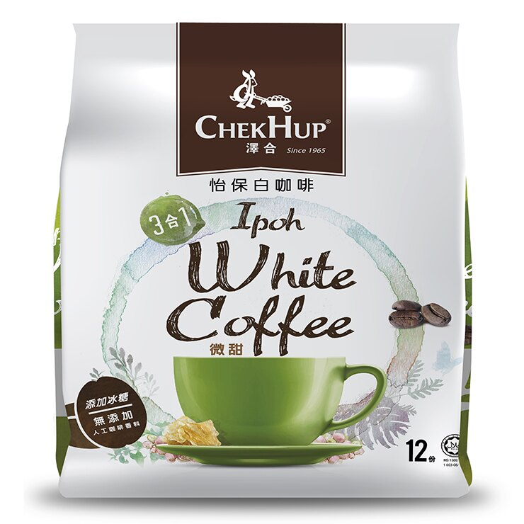 <br/><br/>  澤合怡保白咖啡-微甜(3合1)-420g<br/><br/>