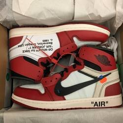 "現貨 BEETLE 極限量 OFF WHITE X NIKE ""THE TEN"" AIR JORDAN 1 AA3834-101 US11.5"