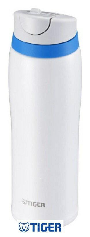 【日本直輸入-預購】TIGER虎牌保溫杯-彈蓋式480CC 不鏽鋼真空~ 日本限定款 - 白色 0