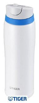 【日本直輸入-預購】TIGER虎牌保溫杯-彈蓋式480CC 不鏽鋼真空~ 日本限定款 - 白色