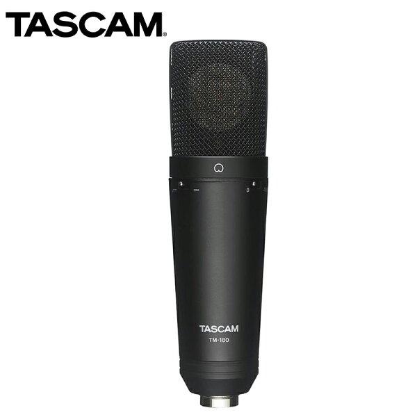 ◎相機專家◎TASCAM達斯冠TM-180電容式麥克風48V幻像電源錄音收音音樂MIC直播公司貨