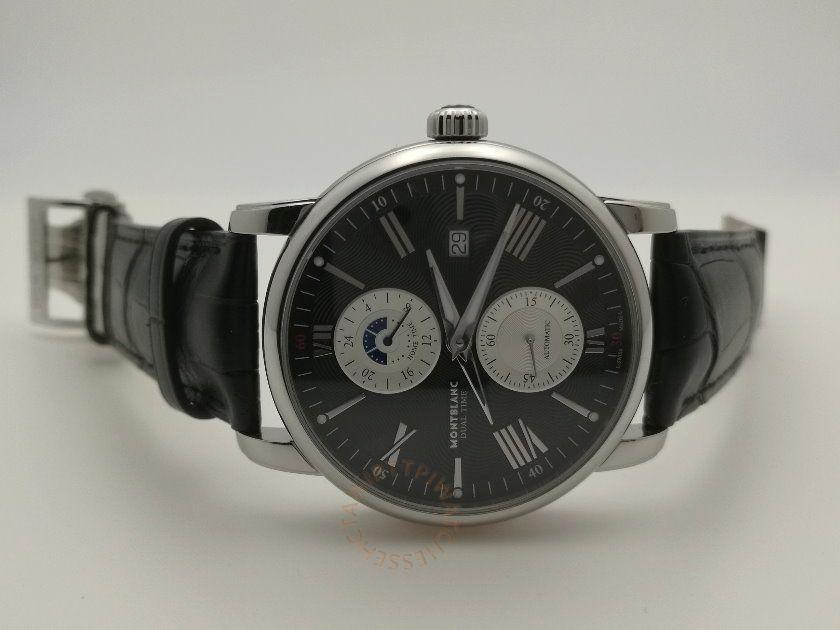 MONTBLANC 萬寶龍 4810系列雙時區腕錶 REF. 114858 4