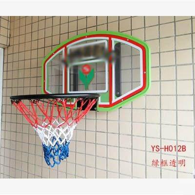 【掛壁籃球架-H012AB-73*48cm-1款組】兒童室內戶外掛壁籃球架家庭籃球架-5670709-1