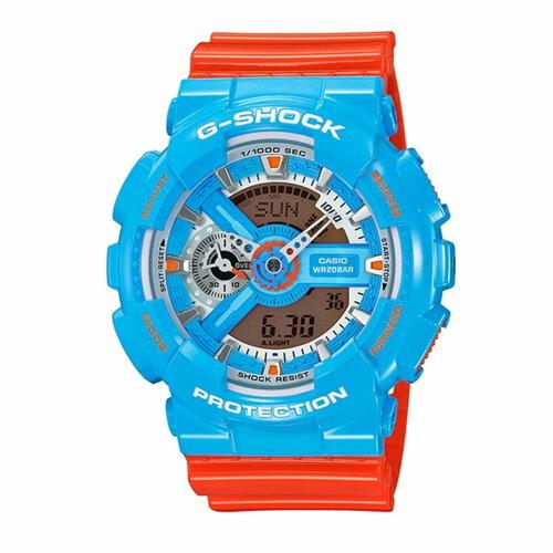 CASIO/G-SHOCK/調色對味運動錶/GA-110NC-2ADR
