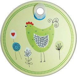 《KitchenCraft》圓型玻璃隔熱墊(公雞)