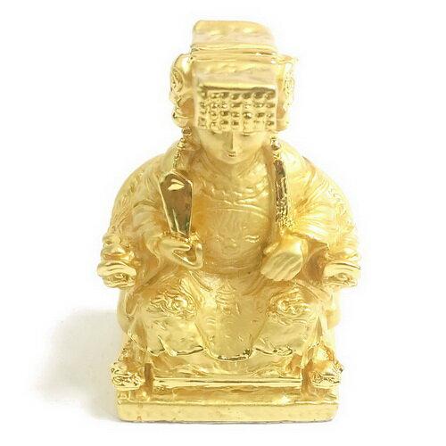 聖母媽祖 5.2公分 小佛像/法像-金色