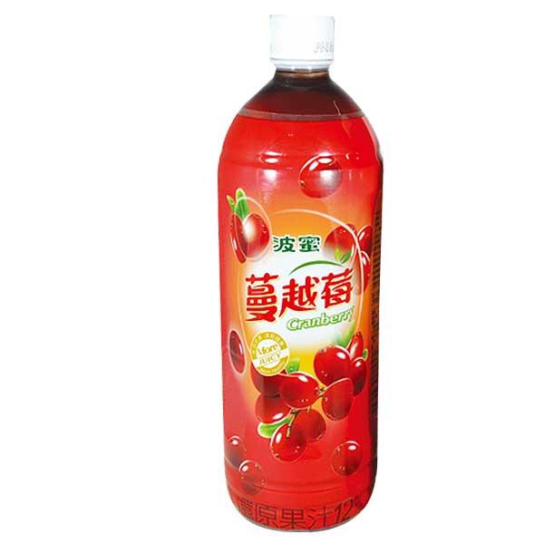 波蜜 蔓越莓綜合果汁飲料 980ml (12入)/箱【康鄰超市】