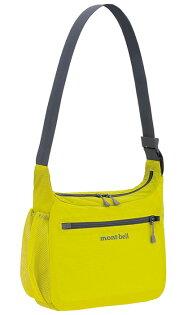 【mont-bell日本】PocketableLight側背包-S/可收摺收納袋輕便旅遊肩袋旅行袋/1123969