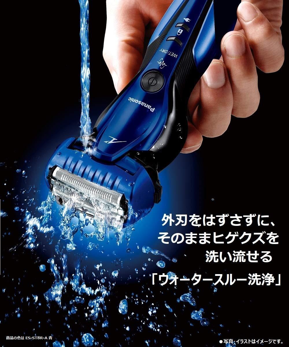 嘉頓國際 國際牌 PANASONIC【ES-ST8R】電動刮鬍刀 電鬍刀 鬍渣感測器 泡沫製造 電鬍刀 全機防水 7
