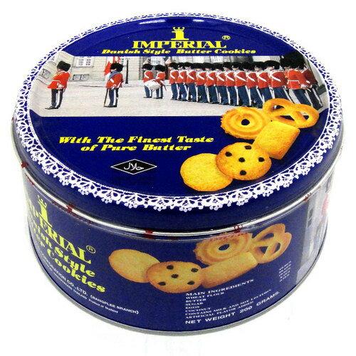 御林軍 丹麥奶酥 藍罐 200g