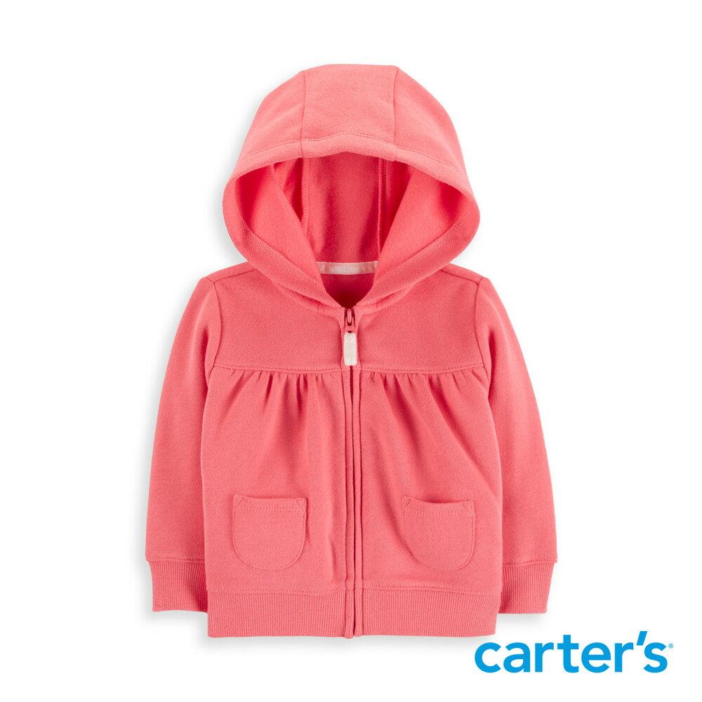 Carter's 經典素色連帽外套 - 限時優惠好康折扣