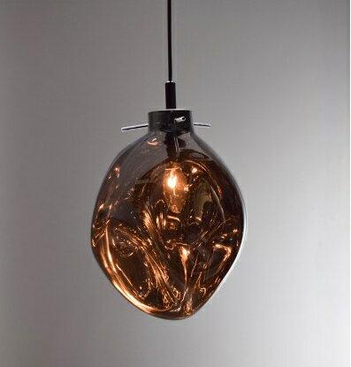手工吹製電鍍銀玻璃吊燈-BNL00115 0
