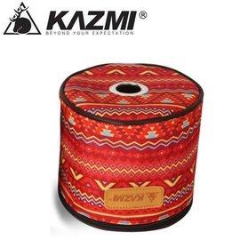 【【蘋果戶外】】KAZMI K4T3B008 經典民族風捲筒衛生紙收納套 紅 小抽取式面紙盒/衛生紙盒/裝飾袋/廚房紙巾套