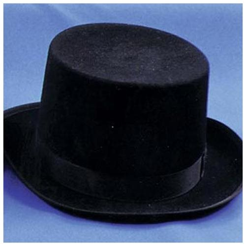 Quality Felt Top Hat (Brown;Large) 0