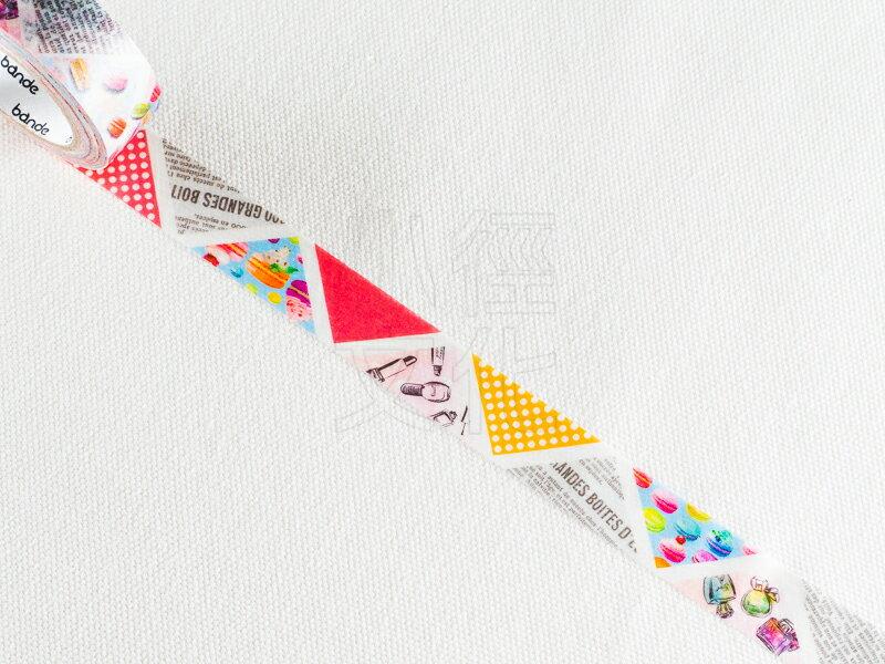 *小徑文化*日本進口 NICO Bande 和紙膠帶系列 - 三角_雜貨 ( BDA 063 )