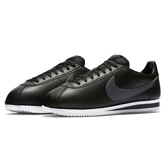 【NIKE】CLASSIC CORTEZ LEATHER 休閒鞋 阿甘鞋 黑色 (男) 749571011