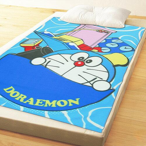 【享夢城堡】哆啦A夢 時空旅行 刷毛毯