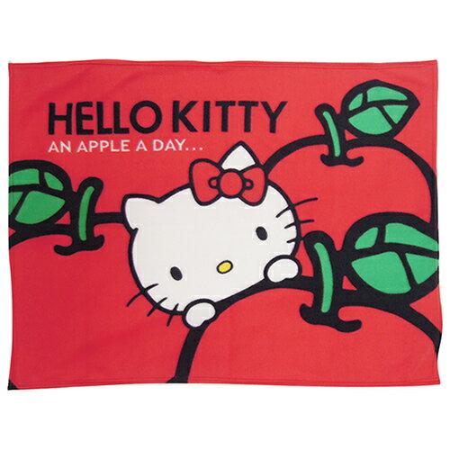 享夢城堡:【享夢城堡】HELLOKITTY蘋果多多刷毛毯