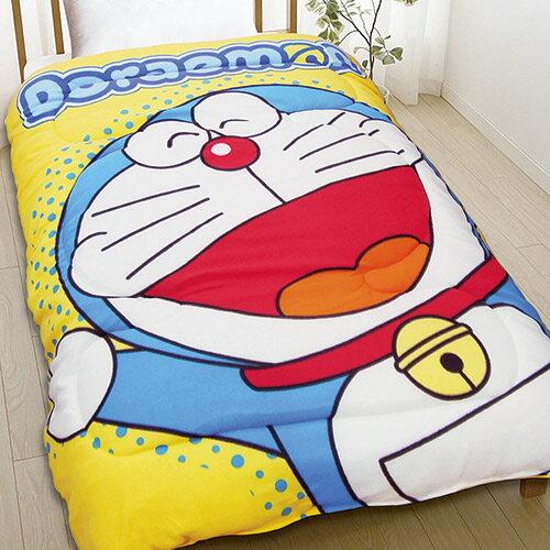 【享夢城堡】刷毛毯被150x195cm-哆啦A夢DORAEMON歡樂無限-黃.藍