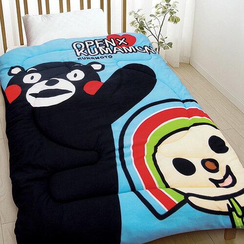 【享夢城堡】OPEN x KUMAMON熊本熊 毯被