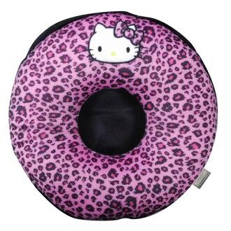 【享夢城堡】HELLO KITTY 豹紋系列-圓型頭枕