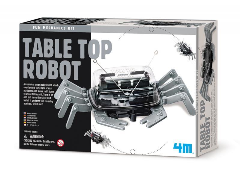 【4M】科學探索系列 - 螃蟹機器人 Table Top Robot 00-03357