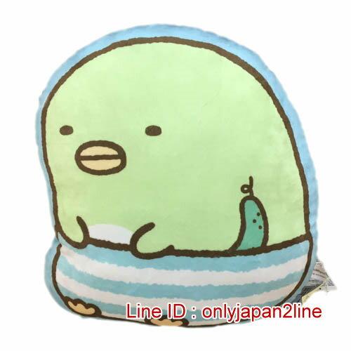 【真愛日本】16122100003角落生物造型抱枕-企鵝   SAN-X 角落公仔  抱枕 靠枕 娃娃