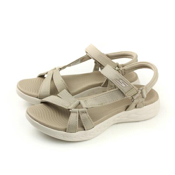 SKECHERSON-THE-GO600涼鞋女鞋卡其色15316NATno803