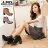 格子舖*【KW6661】MIT台灣製 韓版時尚質感麂皮 綁帶7CM粗高跟 短筒靴 短靴 3色 0