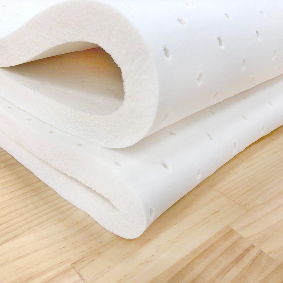 乳膠床墊 / 單人【輕量天然透氣2.5cm乳膠床墊】3x6.2尺- 天然乳膠 彈性支撐 釋放壓力 MIT台灣製 Rohouse 樂活居 2