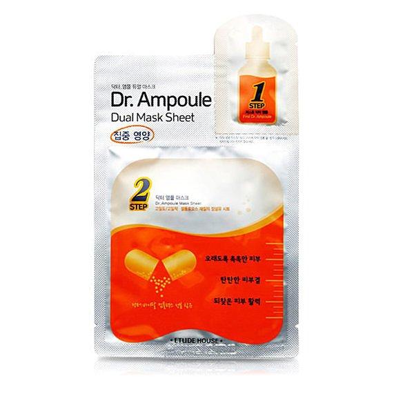 韓國 ETUDE HOUSE 博士級安瓶精華雙效面膜(活力) 2ML+24ML ☆真愛香水★