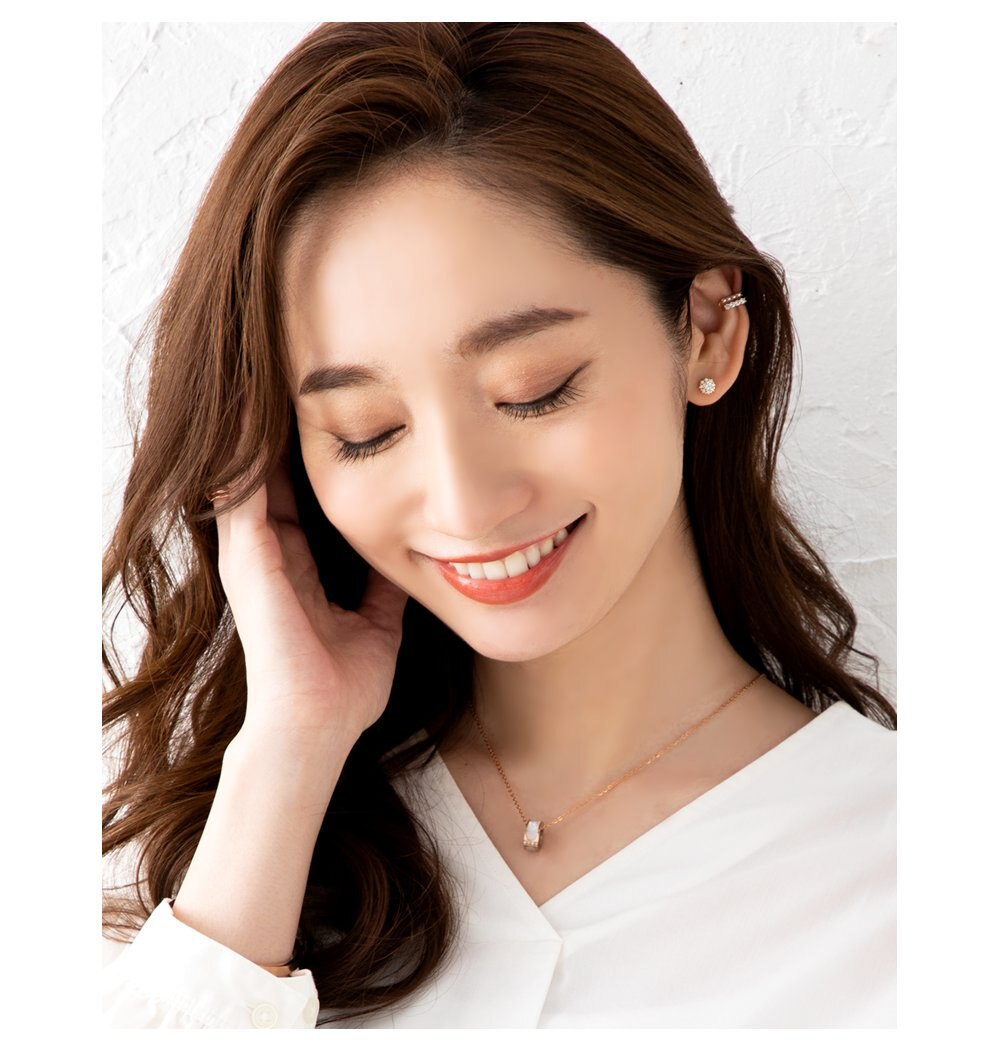 日本Cream Dot  /  花漾鋯石穿孔耳環  /  p00005  /  日本必買 日本樂天代購  /  件件含運 6