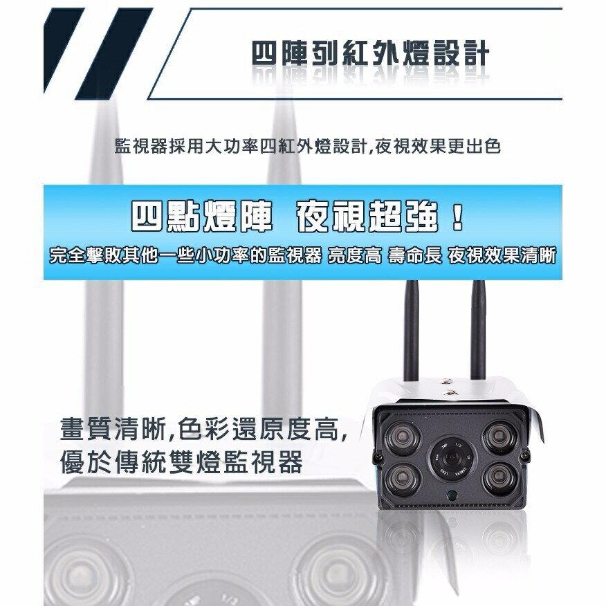 【戶外防水款】雙天線戶外網路攝影機 高清紅外線夜視版 Wi-Fi監視器 智能監視器 遠端監控 非 小蟻攝影機 可插記憶卡 (公司貨) 5