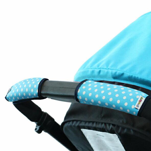PUKU 推車把手保護套2入- 藍點15*16cm『121婦嬰用品館』 2