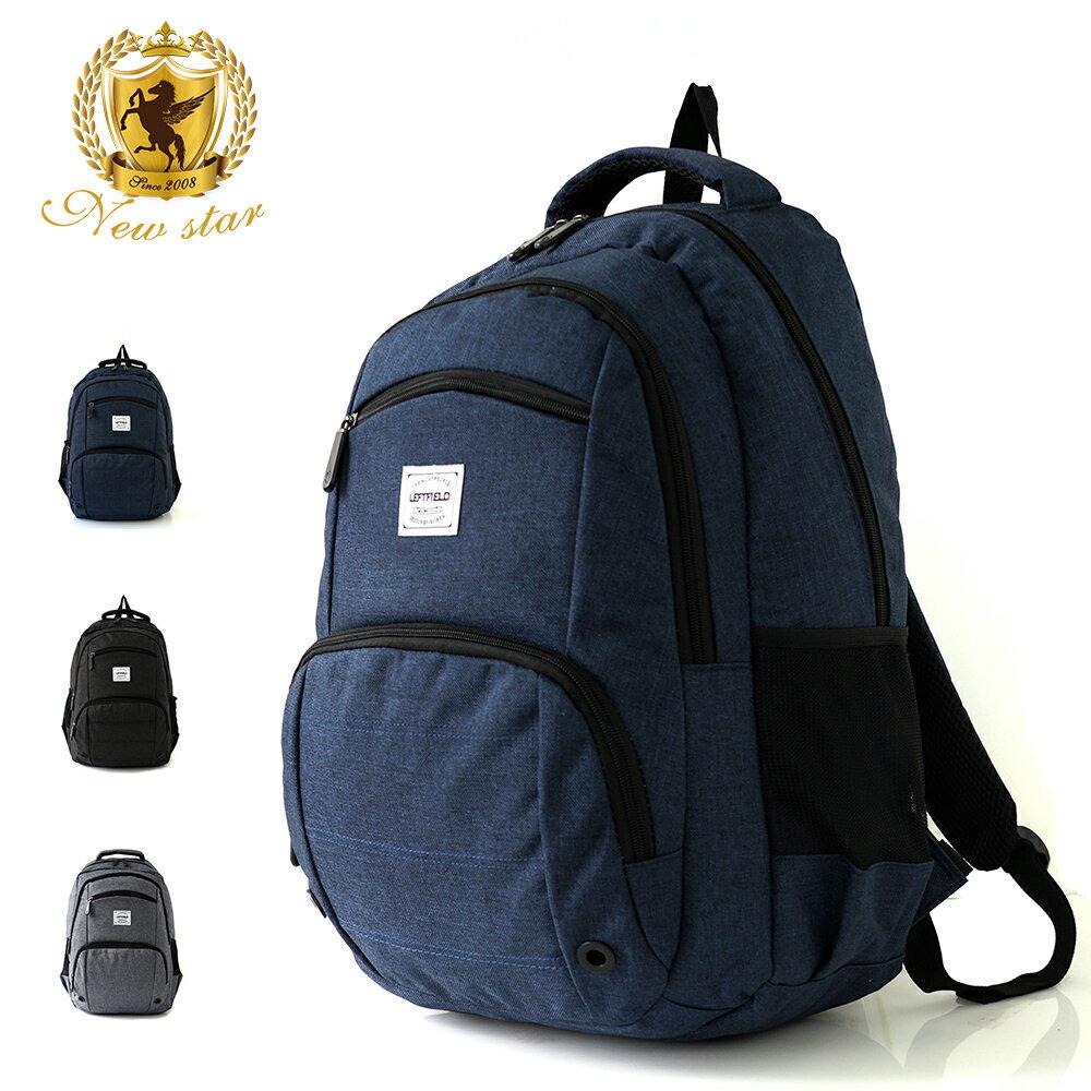 運動輕時尚防水雙層前口袋後背包包 NEW STAR BK237 0