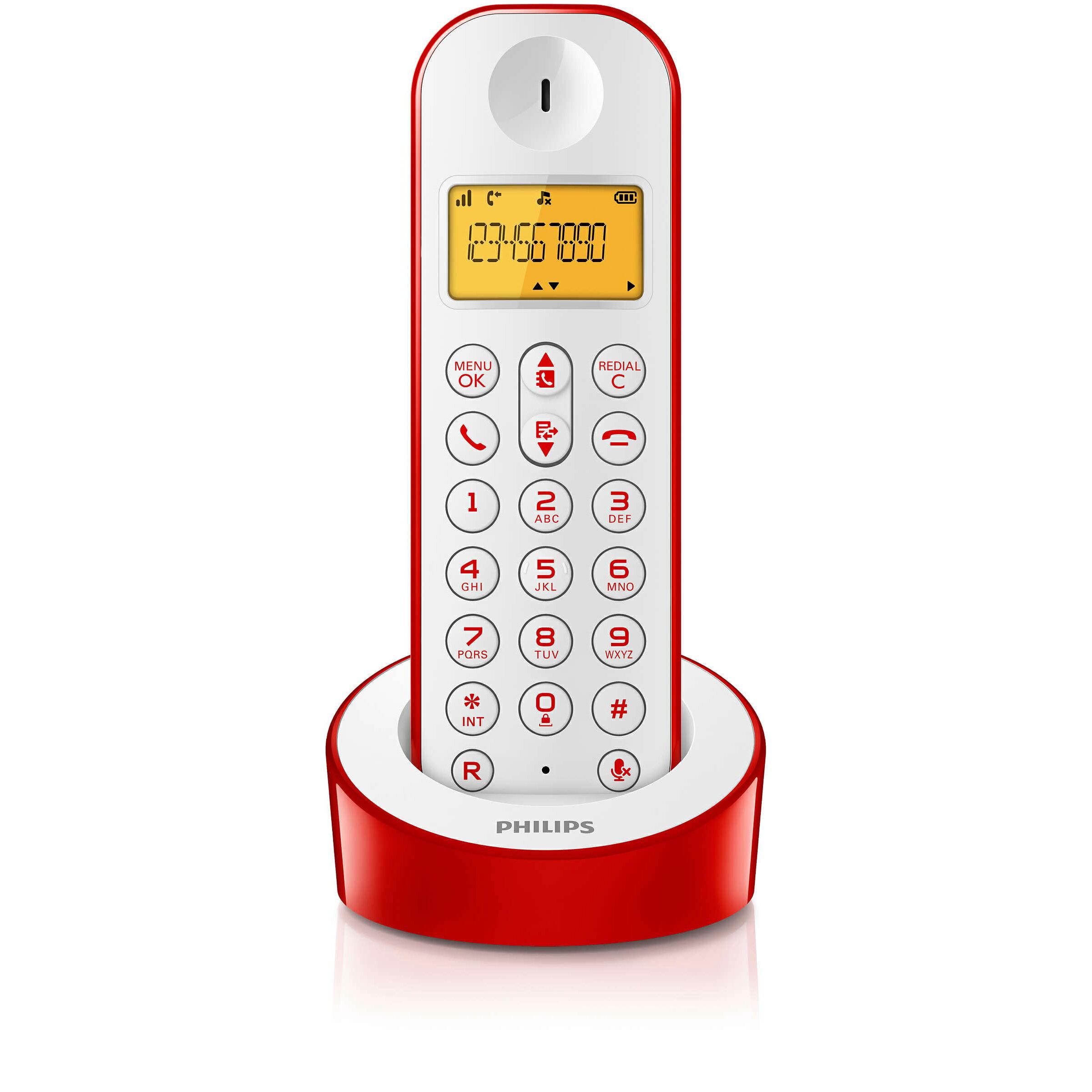 飛利浦 Philips 數位無線電話 D1201