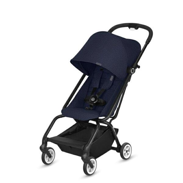*babygo*德國CYBEXEezySTwist360度嬰兒手推車(藍色)