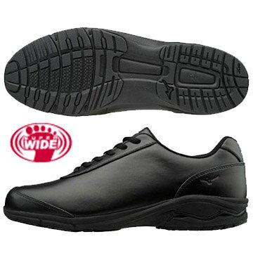 B1GC172809(黑)WAVELD-EX02SW日本大人氣4E超寬楦健走鞋【美津濃MIZUNO】