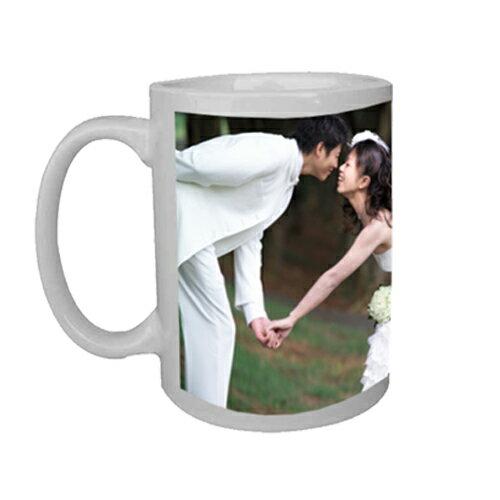 客製化熱轉印白馬克杯 客製化|杯子|送禮|設計杯
