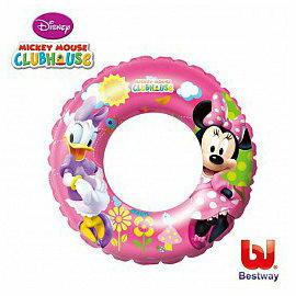 【安琪兒】【Bestway】迪士尼泳圈 - 米妮黛西 - 限時優惠好康折扣